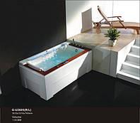 Гидромассажная ванна Golston G-U2605 (L/R), 1910x1010x740 мм