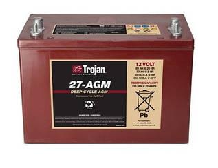 Акумулятор Trojan 27-AGM (12 В 89 Ач)