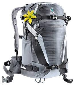 Рюкзак для фрирайда женский Deuter Freerider 24 SL anthracite/black (33504 4750)