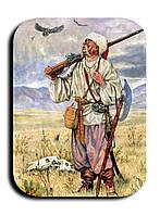 Магнитик Козак на поле
