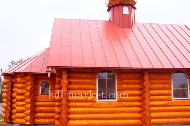 Покраска деревянного дома 10