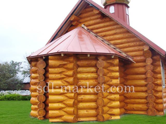 Покраска деревянного дома 6