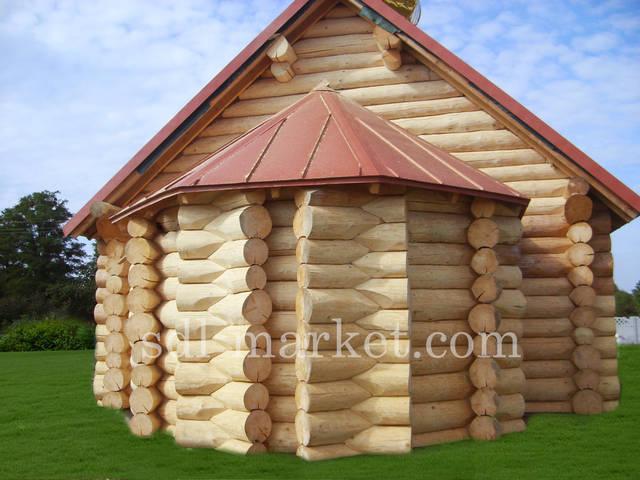 Отделка деревянного дома 16