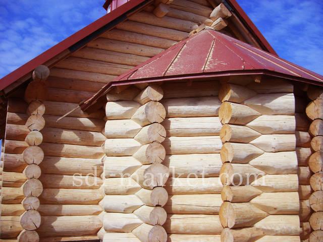 Отделка деревянного дома 17
