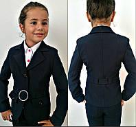 Школьный пиджак для девочки детский 453 Mari