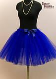 Синяя юбка пачка, фото 2