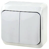 Выключатель SCHNEIDER Этюд BA10-002B 2кл. нар. белый