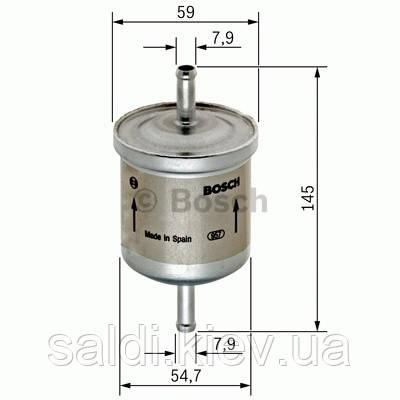 Фильтр топливный Bosch  0450905976 Киев