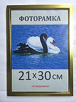 Фоторамка ,пластиковая, А4, 21х30, рамка , для фото, дипломов, сертификатов, грамот, картин, 1511-18