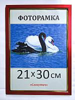Фоторамка ,пластиковая, А4, 21х30, рамка , для фото, дипломов, сертификатов, грамот, картин, 1511-20