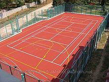 Резиновые покрытия для тренажерных залов, кортов, футбольных и спортивных площадок