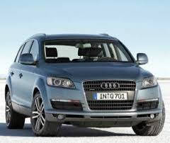 """Ковер багажника Audi Q-7 2006-> (резино/пластик) """"L. Locer"""" черн."""