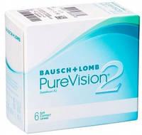Pure Vision2 контактные линзы 3шт