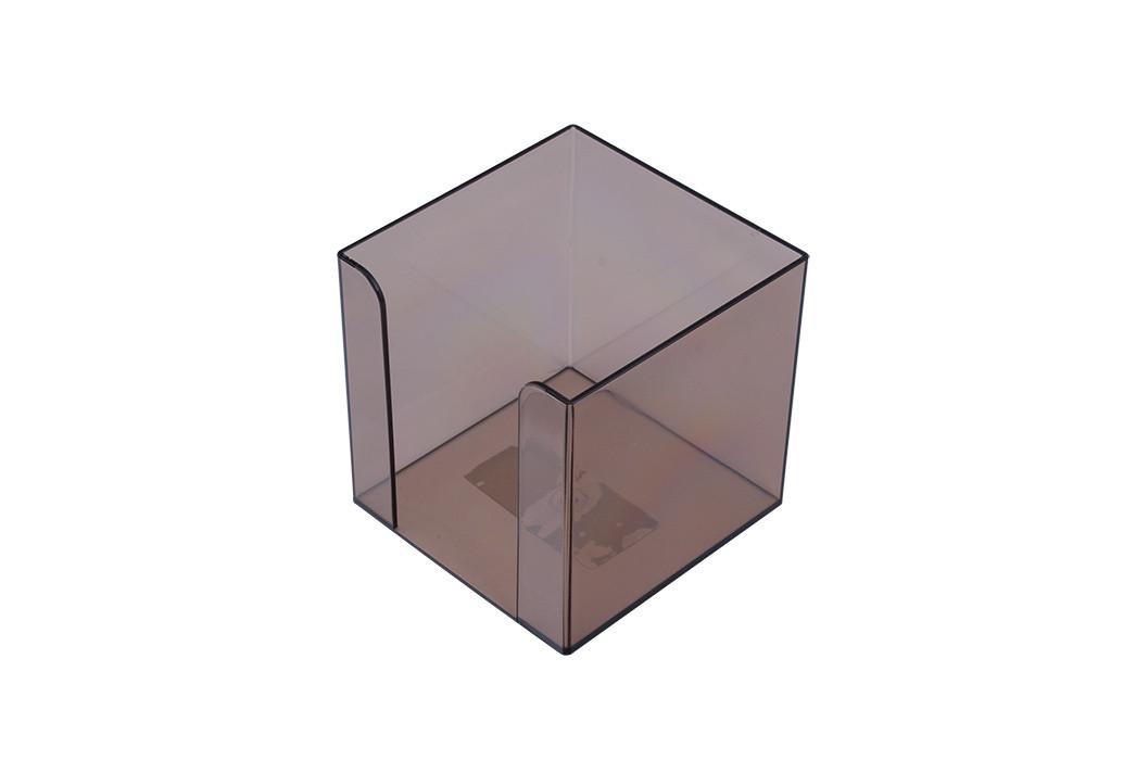 Куб для бумаги АРНИКА Jobmax 90х90х90мм дымчатый (83031)