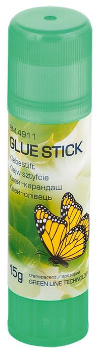 Клей карандаш Buromax 15г PVP прозрачный Eco-line BM.4911