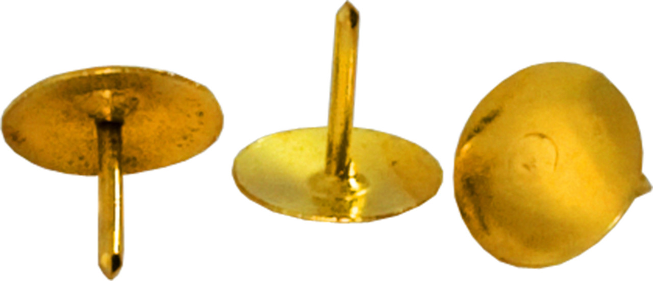 Кнопки золотистые.100 шт.