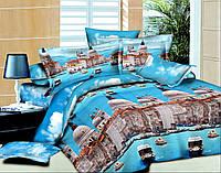 Двуспальный комплект постельного белья Архитектура Венеции,