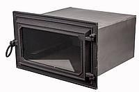 Чугунная печная духовка - VVK 51x30x40см-44x24x40см