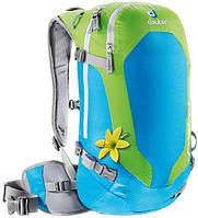 Рюкзак для фрирайда женский Deuter Provoke 14 SL turquoise/kiwi (33163 3223)