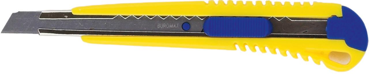 Нож универсальный 9мм мет направляющая пласт корпус