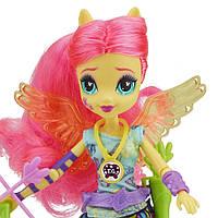 Май Литл Пони Кукла Флаттершай лучница из команды Вондеркольт Equestria Girls Archery Fluttershy Doll, фото 1