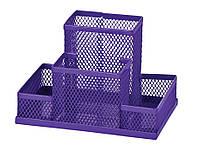 Прибор настольный 150x100x100мм металлический фиолетовый