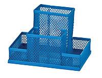 Прибор настольный 150x100x100мм металлический синий