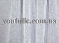 Льон тюль білого кольору, фото 1