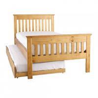 Кровати деревянные с выдвижными ящиками