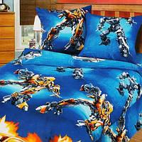 Постельное белье в кроватку, Воин-робот бязь (детское постельное белье)