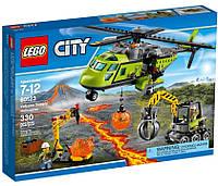 LEGO® City Грузовой вертолёт исследователей вулканов 60123