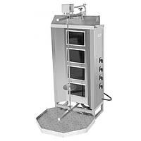 Аппарат для приготовления шаурмы газовый вертикальный Altezoro (Китай) FJYQR-E34/3