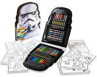 Набор для рисования со звездными войнами 45 предметов Crayola Storm Trooper Art Case Оригинал из США