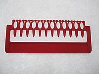 Органайзер для нити мулине, 12 мест на палитре. Размер общий 164 х 67 мм