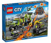 LEGO® City База исследователей вулканов 60124