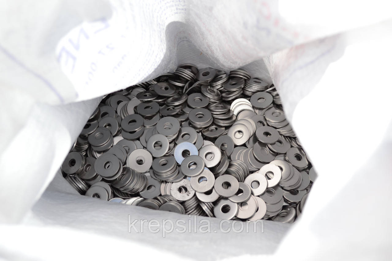 Шайба плоская Ф24 ГОСТ 11371-78, DIN 125 из нержавеющей стали