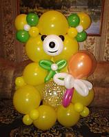 """Фигура из шариков """" Медведь """""""