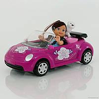 Кукла маленькая с машинкой, в коробке (ОПТОМ) К 899-14