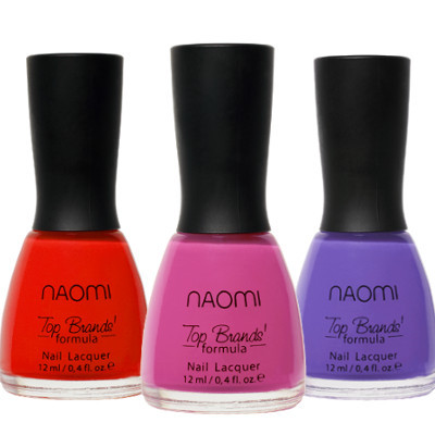 Лаки для ногтей Naomi купить