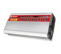 Инвертор, преобразователь, инвертор напряжения 12/220V - 500W Код:27407701