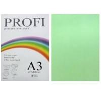 """Бумага цветная """"PROFI"""" А4. 80г  светло-зеленый GREEN"""