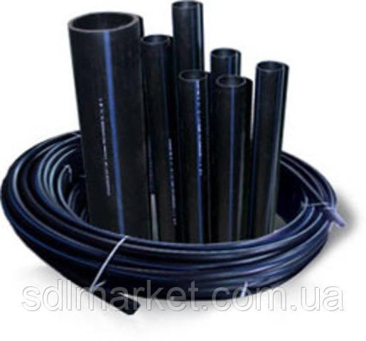 Труба полиэтиленовая питьевая водопроводная 20 х 1,8 мм 10 атм. от производителя !