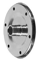 Фланец для гидроаккумулятора Aquatica ZT1, диаметр горловины 90мм, оцинкованная сталь.