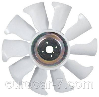 Вентилятор радиатора на двигатель Isuzu C240, 4LB1, 4JG2, 4JB1, 4JJ1,  4BD1