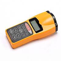 Ультразвуковая рулетка, дистанционный измеритель расстояния и площади, строительный дальномер Код:38663572
