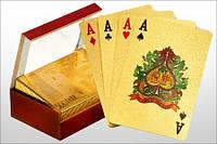 Прикольный подарок Карты игральные «Доллар золотой» Код:38947459