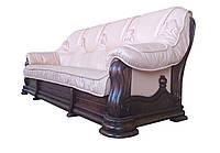 """Кожаный диван """"Grizly"""" четырехместный"""