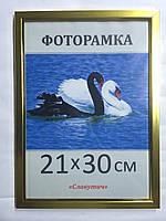 Фоторамка,пластиковая,А4,21х30, рамка,для фото, дипломов,сертификатов, грамот, вышивок 1511-18