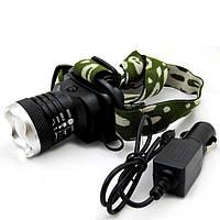 Налобный фонарь Bailong MONT-6809 Код:45737679