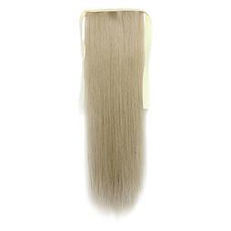 Искусственный накладной хвост на ленте. Цвет #16 Пепельный Блонд